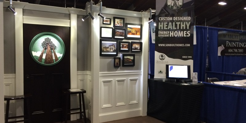 Sonbuilt Tradeshow Booth