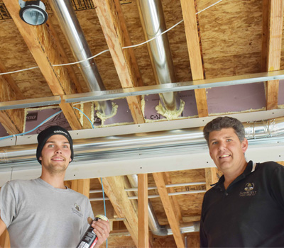SEALING AN ENERGY EFFICIANT HOME