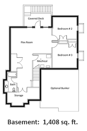 Floor Plan Basment